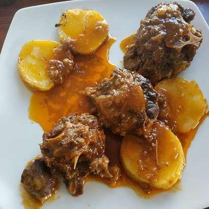 plato típico Casarabonela