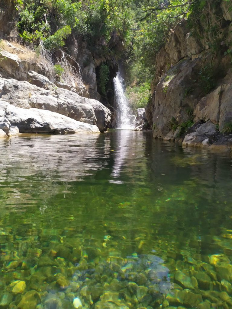 Río Verde_Charco del Canalón. Istán. PN Sierra de las Nieves.