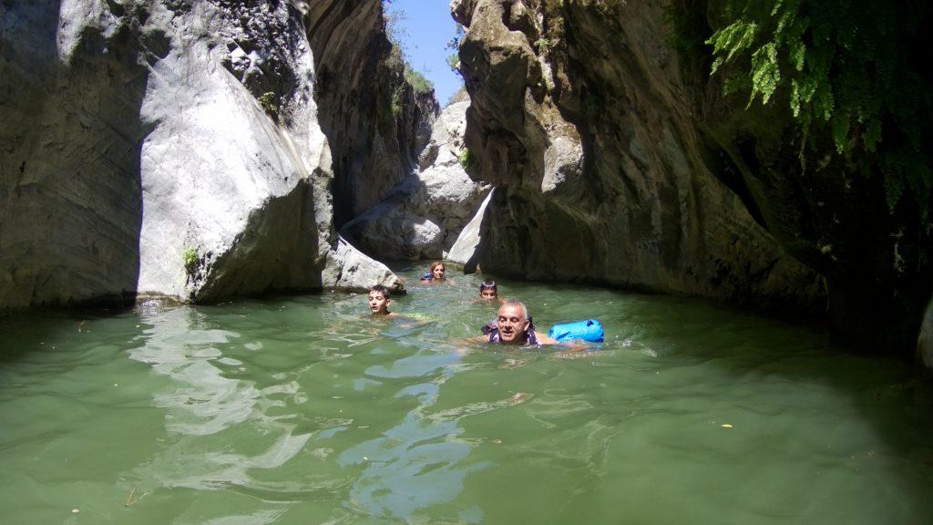 Angosturas Río Guadalmina. Benahavís. Costa del Sol y Sierra de las Nieves.